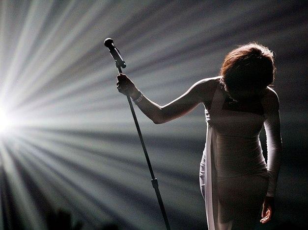 Whitney Houston, radiante luz